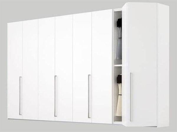 5款高光简约衣柜设计,简单大气实用,我最喜欢第4款,你图片