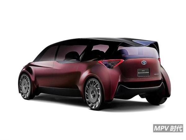 充电3分钟续航1000公里,丰田氢燃料概念车才是未来MPV的样子