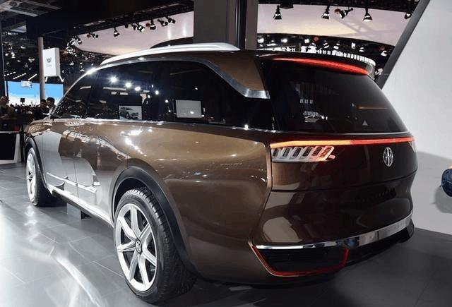大尺寸国产SUV, 正道K750霸气来袭, 续航是特斯拉顶配的3倍!