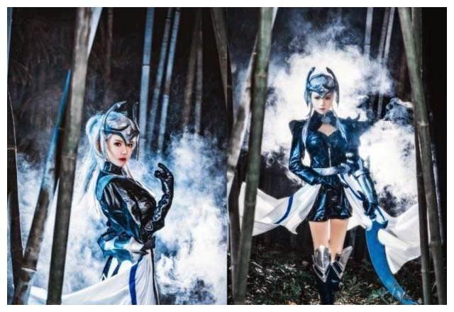王者荣耀露娜的月光之女哥特玫瑰紫霞仙子皮肤cosplay