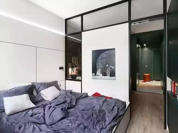 45平方北欧风单身公寓装修效果图介绍,小巧蜗居很出彩