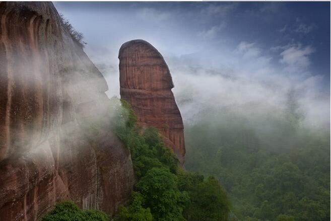 广东四大名山之一,探秘让人面红耳赤的阴阳石奇景