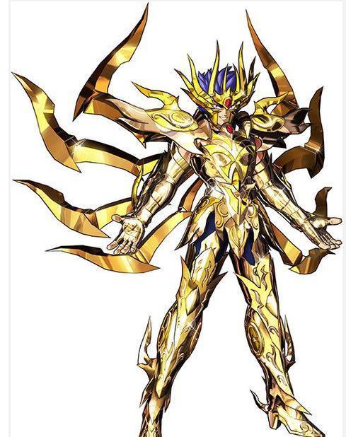 圣斗士圣衣赏析系列4-黄金神圣衣-巨蟹座双鱼座尾图片