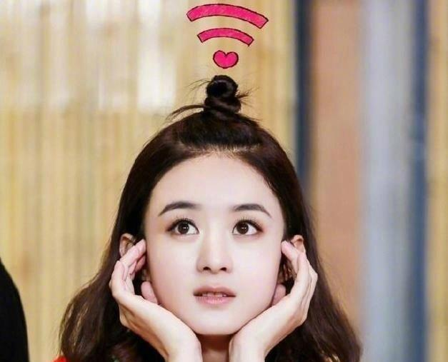 wifi发型快要过时了? 迪丽热巴依旧美, 赵丽颖可爱图片