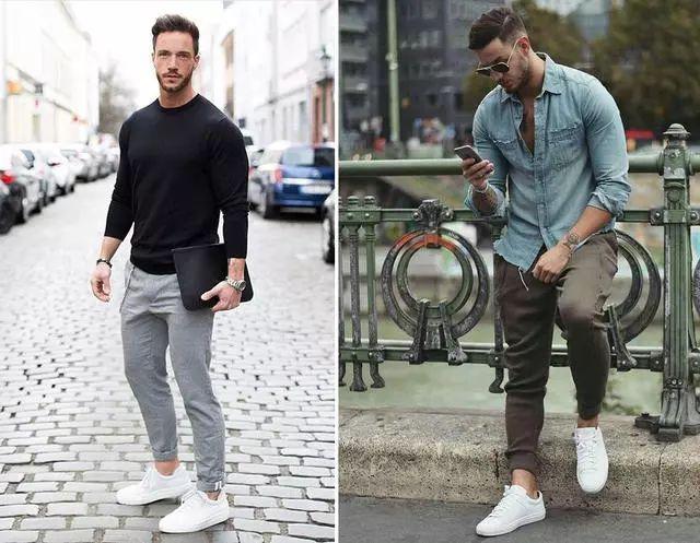 买了小白鞋却不知道怎么搭?这5种裤款准没错!