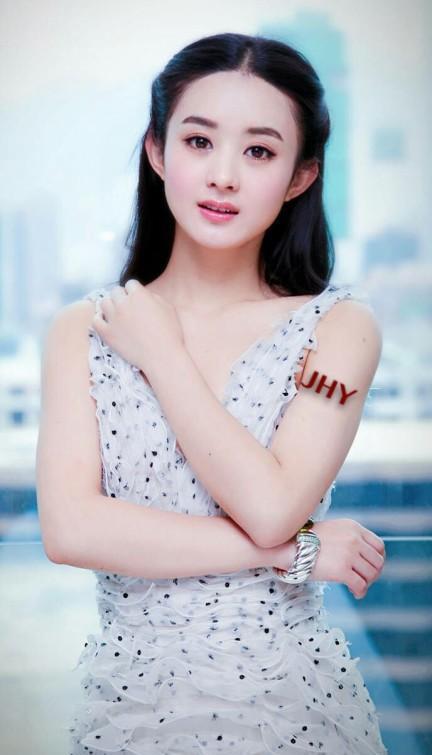 赵丽颖新剧路透曝光,网友:没想到丽颖身材这么娇小可爱
