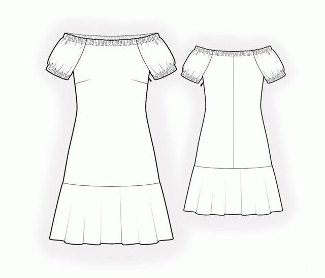 怎样学手绘裙子设计