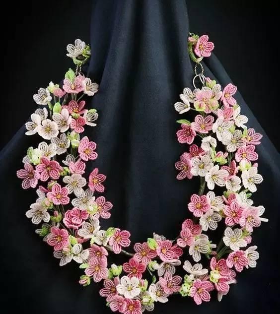 钩针3d立体花朵图片