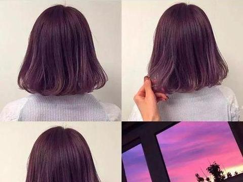 白头发多染什么颜色好图片