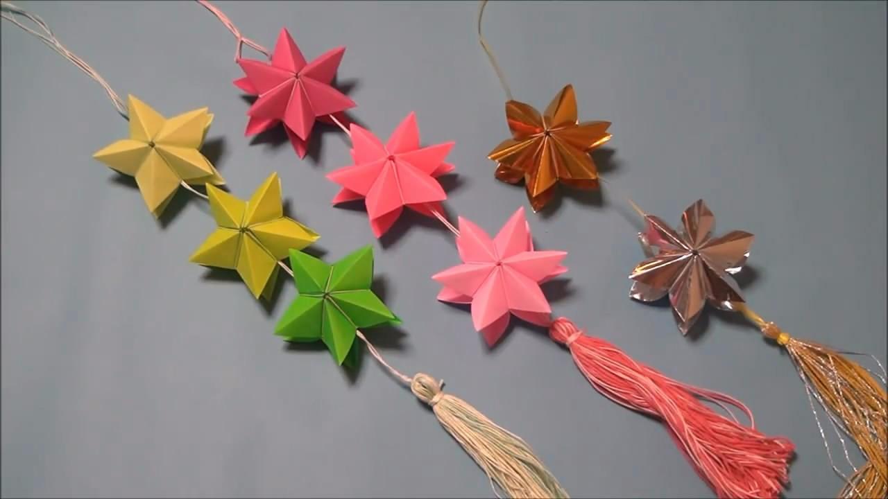 传承手工艺术,放飞指尖梦想,每一节教学我们都会认真对待!只为传递手工技艺,今天为大家分享如何折纸折纸七夕装饰星,步骤详细,方法简单易学,非常有创意,打造属于你自己的浪漫七夕,喜欢创意折纸制作的朋友们可以来和我学习学习哦!更多精彩内容等待你的发掘!