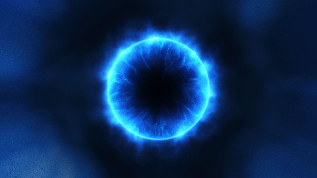 最大黑洞的质量是太阳97亿倍, 如果地球在其周边, 会有什么结果?图片