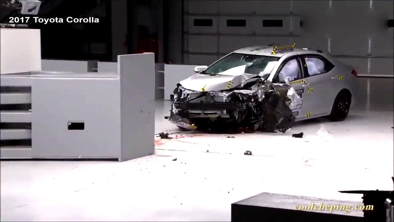 丰田卡罗拉、本田思域碰撞测试对比,谁更安全?
