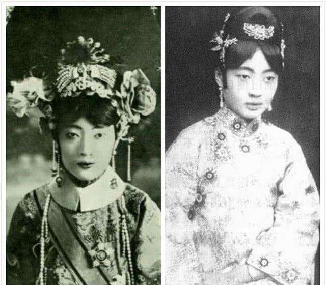 这才是清朝皇帝后宫妃子的真实面目,感觉清朝皇帝真不图片