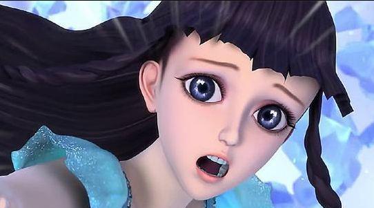 叶罗丽:人物们的表情包,冰公主和灵公主委屈都可爱,光