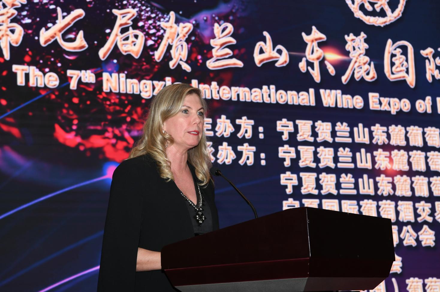 第七届贺兰山东麓国际葡萄酒博览会在银川开幕