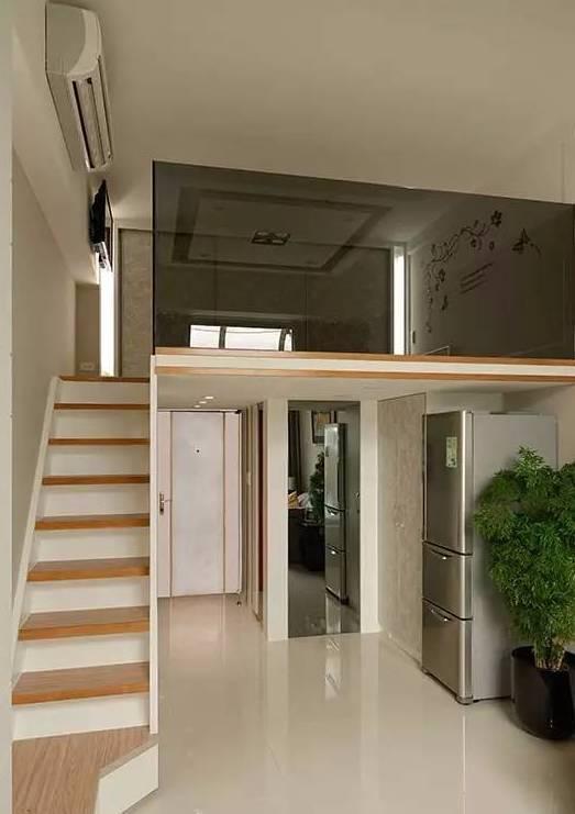24㎡迷你loft公寓装修,四舍五入也是一套小复式楼了图片