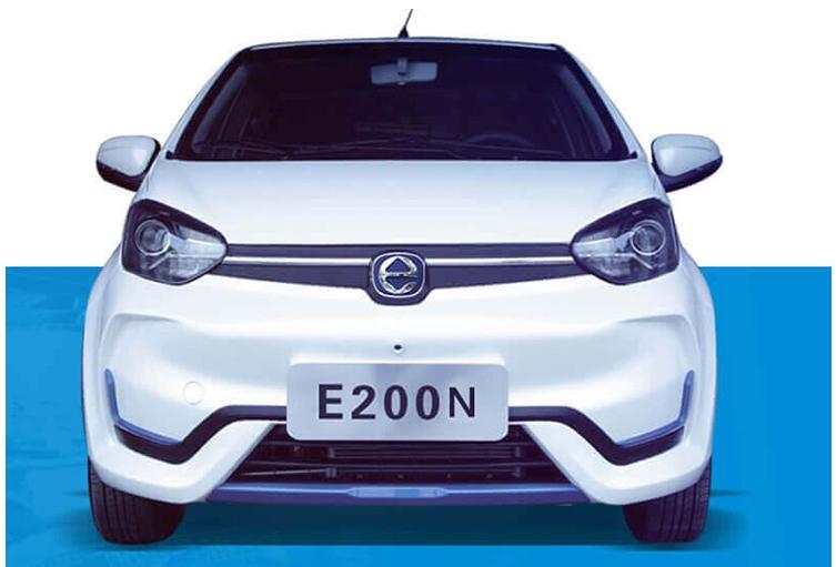 江铃E200N官图发布 补贴后5.93万起 综合续航255公里
