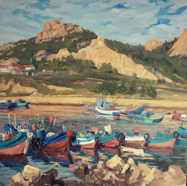 他画的风景油画,连陈丹青都羡慕不已