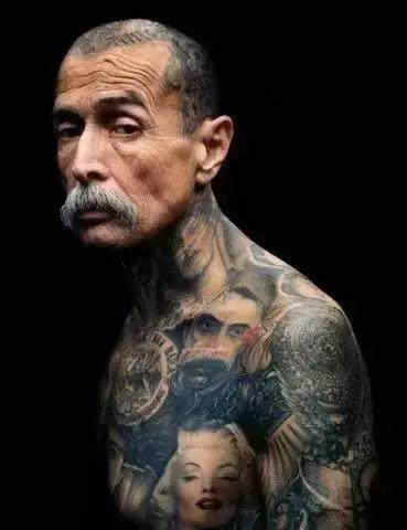 我喜欢纹身 ?你却还单身?图片