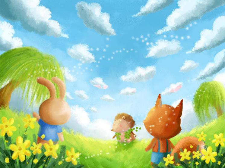 《山林里的故事》兒童繪本插畫 / by.yi tong_新浪看點