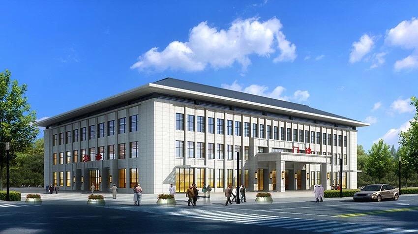 工程建装a工程绘制延安市精神病专科医院建设项目优化中标城市.软件图提升数学图片
