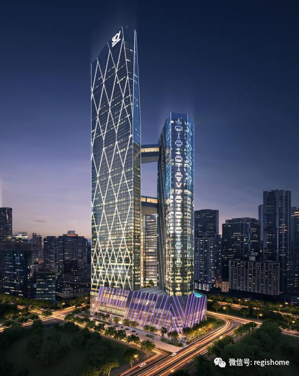 房屋建筑588_740竖版竖屏大厦设计图a3图框图片