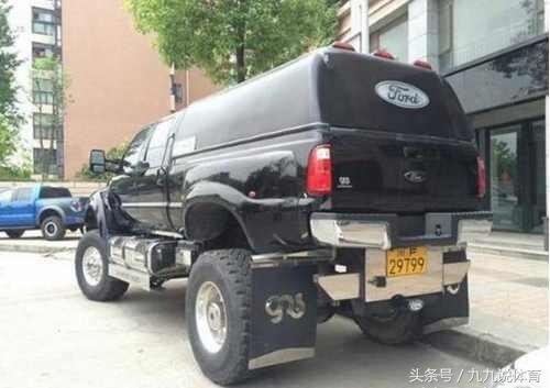四川最贵皮卡车,买它还送一辆宝马,不过洗车和轮胎充气都很头疼