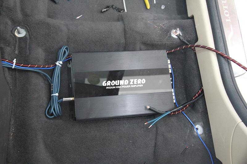 莲花汽车音响二次升级改装-加处理器变主动系统