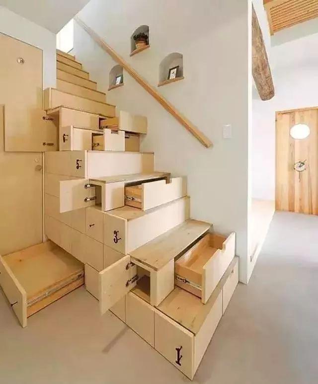 """【民宿设计】民宿里那些""""不正经""""的楼梯!图片"""