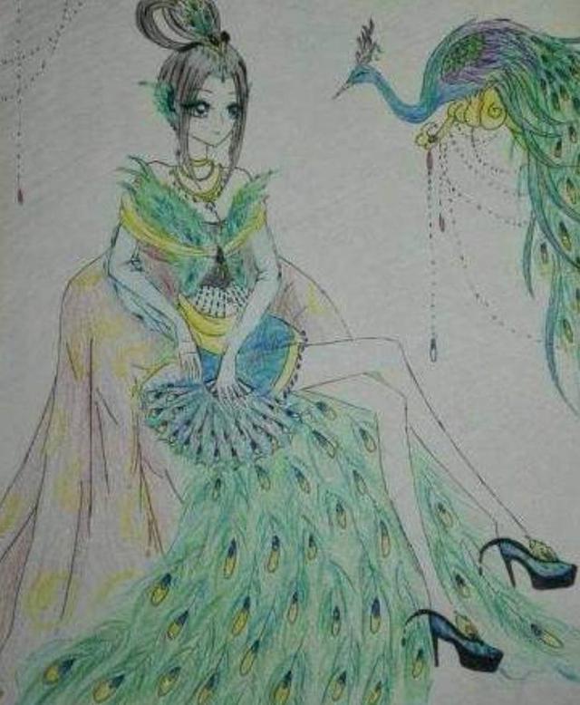 十二星座各自代表的手绘叶罗丽,天秤座是冰公主,狮子