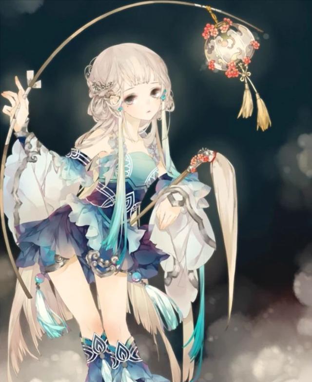 十二星座化身二次元女神,公主座是明星时间,白羊座是睡美人!B型血天蝎座射手图片