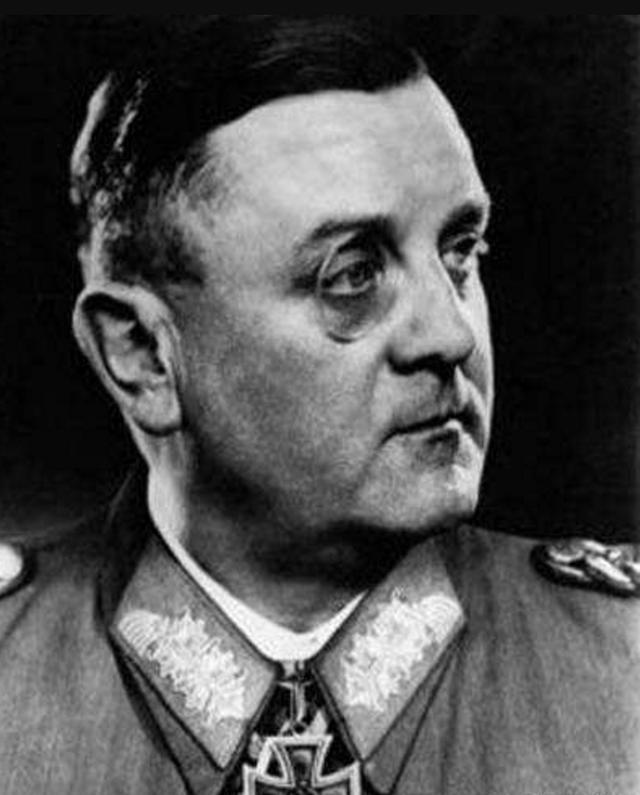 巴黎差点毁灭,还是因为一个纳粹名将,他叫做迪特里希·冯·肖尔铁茨