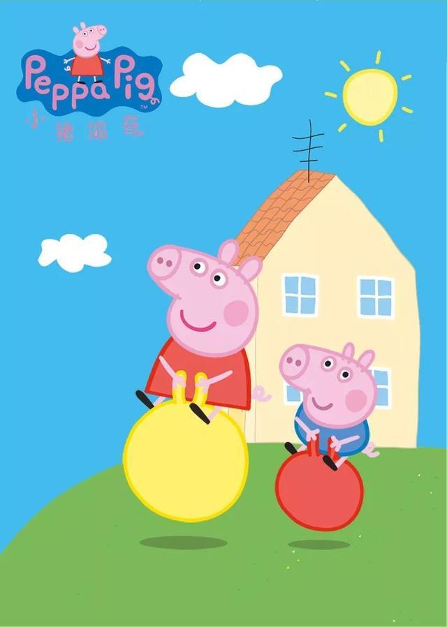 《小猪佩奇》以小猪佩奇一家为代表,小动物们都在一个温馨的家庭环境