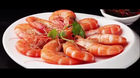 创意v视频餐鲜甜白灼基围虾原来这样配柠空中蹬自行车瘦视频大腿图片