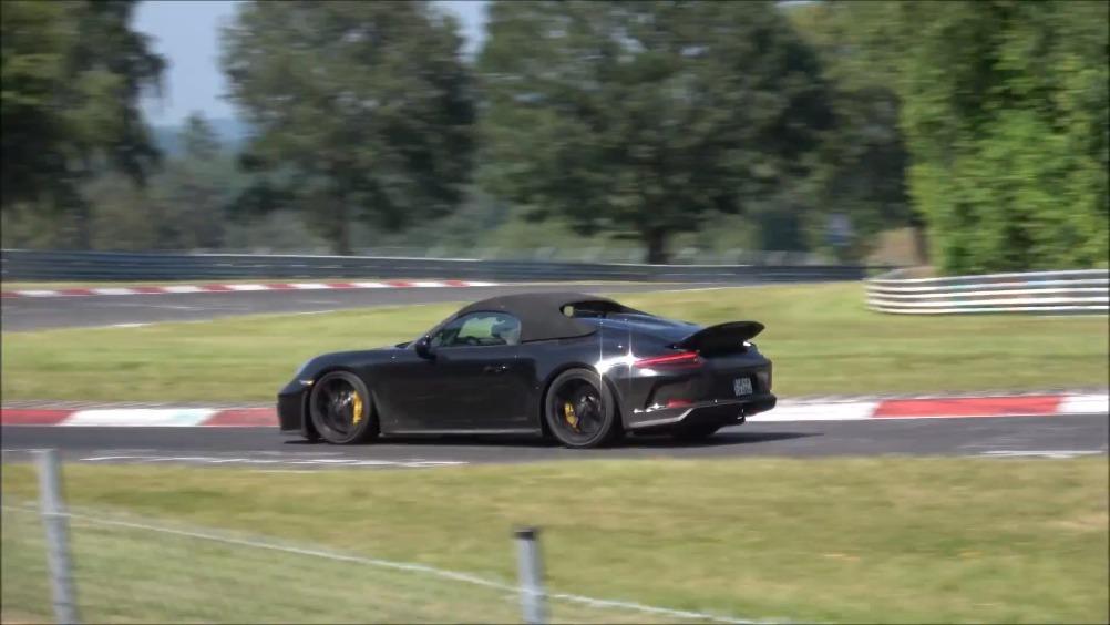 【新车谍照】最后一款991: 911 Speedster纽北积极路试中 ...