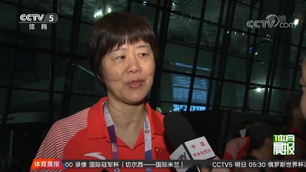 中国女排变阵目标不变
