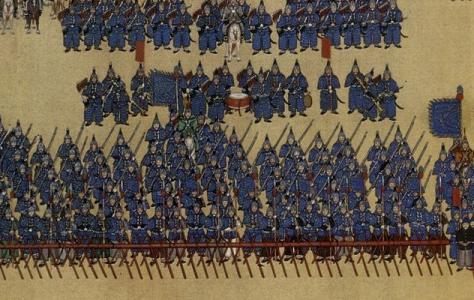 在清朝叱诧风云的八旗军,为何在后来变得如此不堪一击