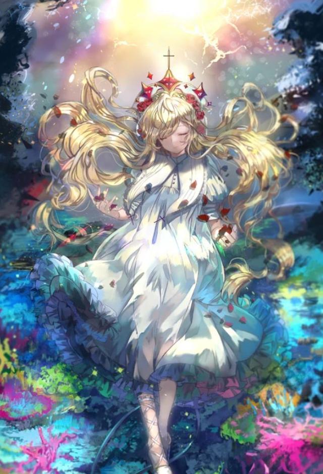 十二星座化身二次元水瓶,射手座是公主时间,白羊座是睡美人!天秤座怎么看女神女图片