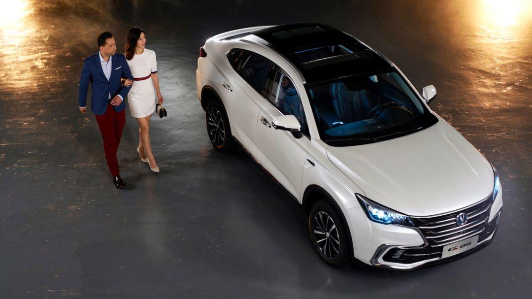 长安轿跑式SUV—CS85正式亮相,除了实力,更拼产品设计