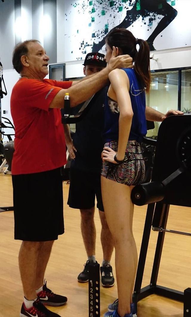 三级跳陈婷_田径美女三级跳,白嫩长腿,小腿肌肉如画|陈婷|田径