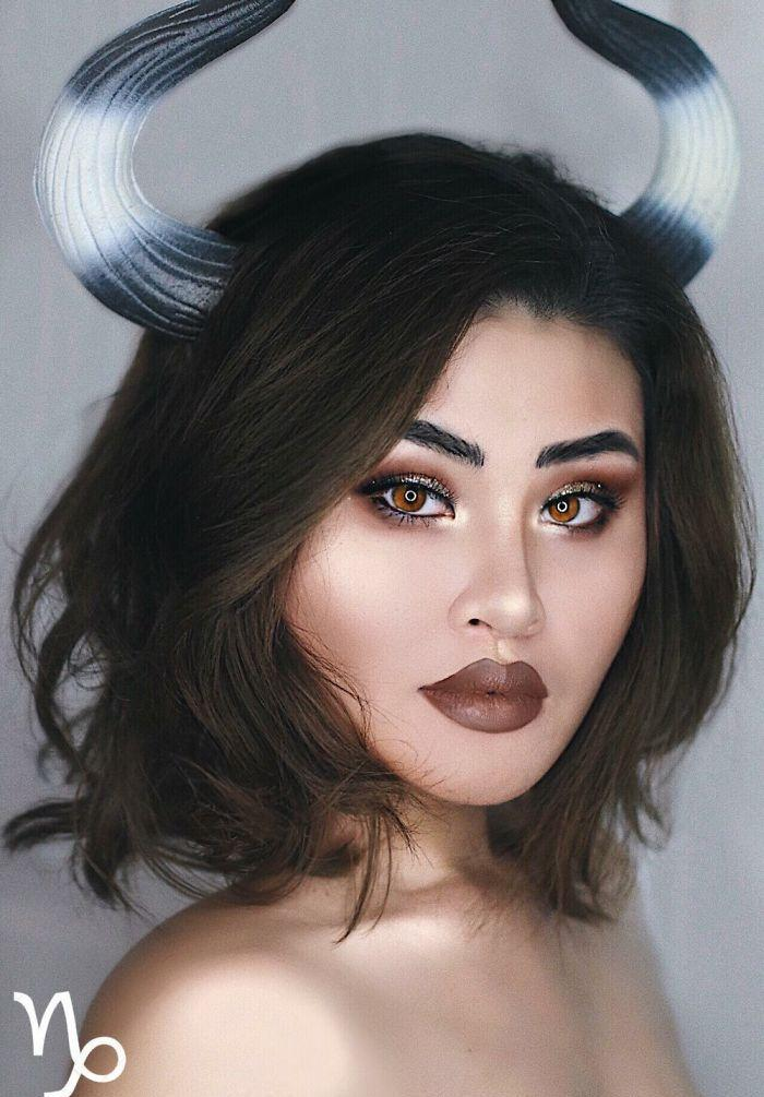 12星座专属的创意美妆展现不同个性, 巨蝎座的妆最美