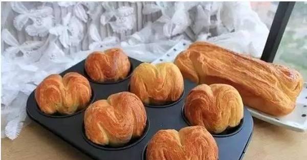 丹麦手撕面包(超详细开酥步骤)的做法步骤