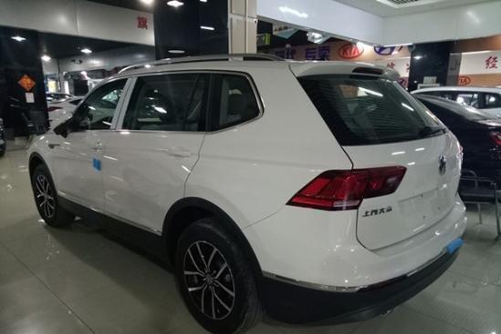 2017款途观l报价 大众7座suv新车上市竞众泰t500图片