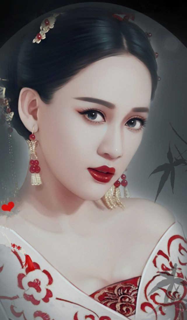 古装手绘最美的女星排行, 迪丽热巴第三, 第一名美爆了