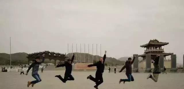 """2018年第三批""""华夏文明·薪火相传""""台湾游学参访团到黄河坛景"""