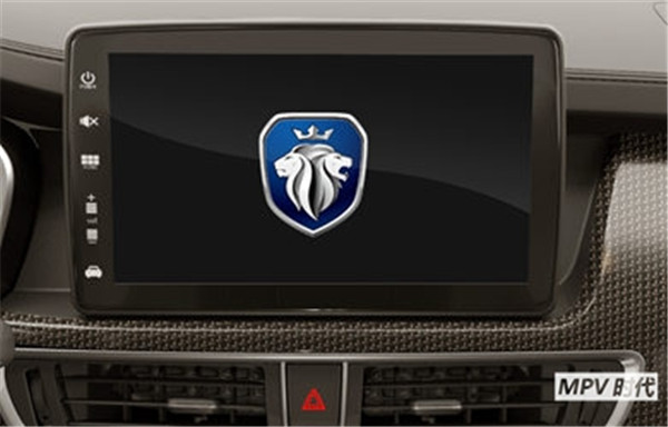 满足你的大屏情结,家用MPV福田伽途im8有块10.1寸的悬浮液晶屏