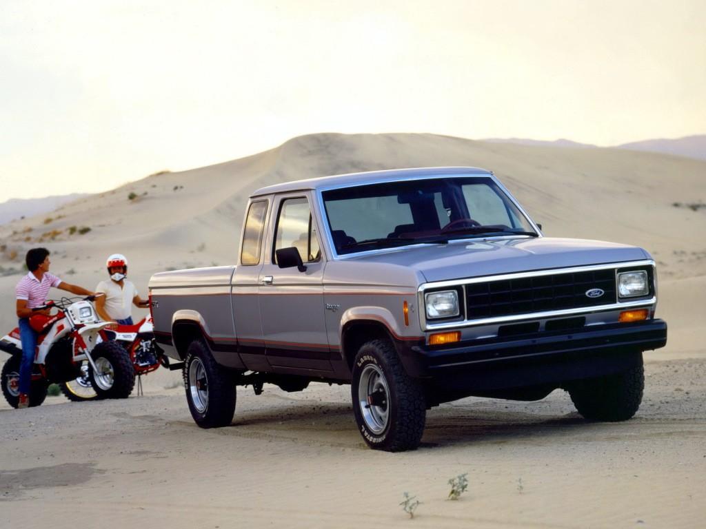 你以为福特的皮卡只有F系列?畅销30年的Ranger了解下