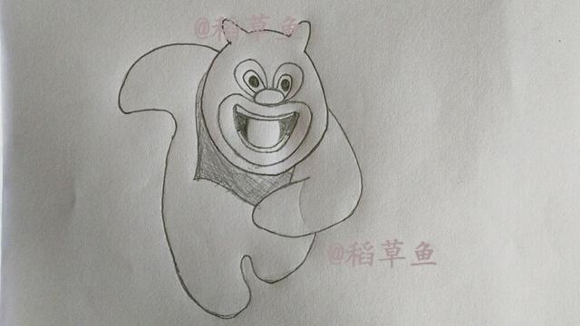 教你画儿童幼儿简笔画熊熊乐园里的小熊熊和小强强