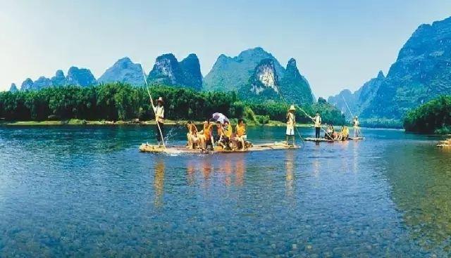 中国最美的意境旅游景区——广西宜州古龙河景区,世外