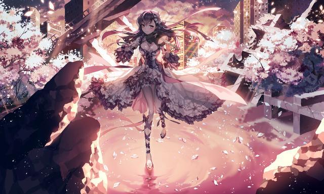 二次元暗黑系美少女图片——正因为我们看不见,那才可怕
